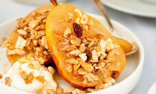 Spiced Baked Pears Recipe